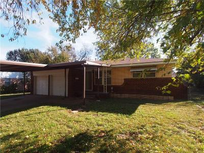 Midwest City Single Family Home For Sale: 3002 Edgewood Drive