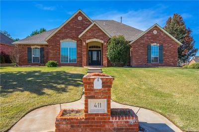 Midwest City Single Family Home For Sale: 411 Windsor Road