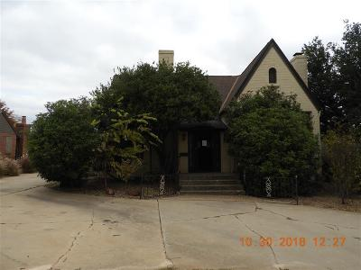 Nichols Hills Single Family Home For Sale: 1117 Glenwood Avenue