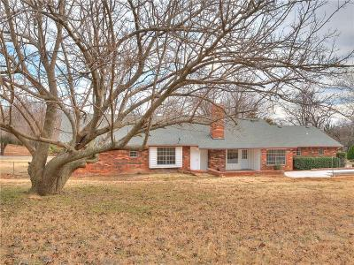 Lincoln County, Oklahoma County Single Family Home For Sale: 5709 N Parkhurst Road