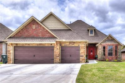 Choctaw OK Single Family Home Sold: $305,700