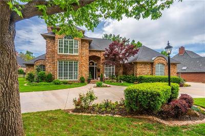 Edmond Single Family Home For Sale: 408 Country Club Terrace