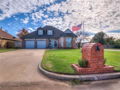 Midwest City Single Family Home For Sale: 10500 Willow Ridge Drive