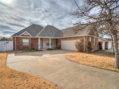 Choctaw Single Family Home For Sale: 14460 Glenview Drive