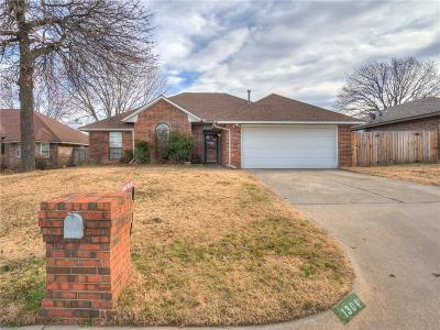 Midwest City Single Family Home For Sale: 1304 Nottoway Drive