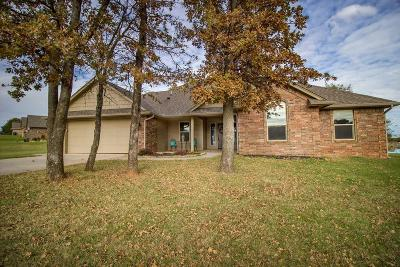 Blanchard OK Single Family Home For Sale: $208,000