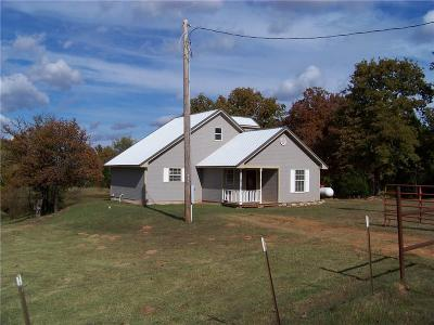 Wellston Single Family Home For Sale: 331798 E 870 Road