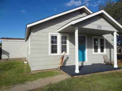 Cordell Single Family Home For Sale: 1120 N Market