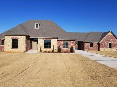 Blanchard OK Single Family Home For Sale: $337,469