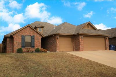 Harrah Single Family Home For Sale: 20681 Frontier Place