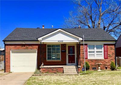 Oklahoma City Single Family Home For Sale: 4249 NW 16th