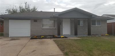Moore Single Family Home For Sale: 1112 N Janeway