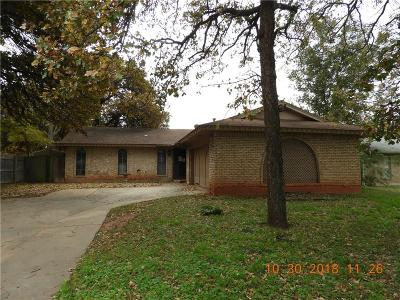 Del City Single Family Home For Sale: 3404 Simmons Drive