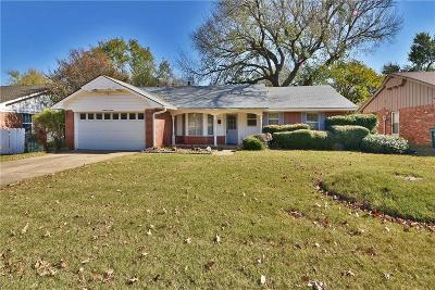 Edmond Single Family Home For Sale: 1716 S Rankin Street