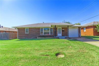 Midwest City Single Family Home For Sale: 2205 N Key Boulevard