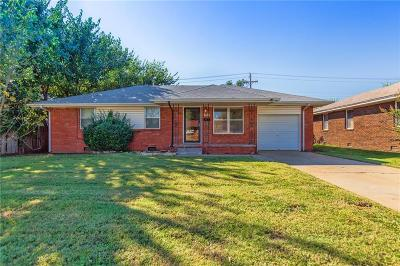 Midwest City Single Family Home For Sale: 2309 Maple Drive