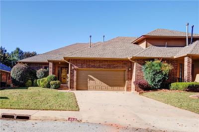 Oklahoma County Condo/Townhouse For Sale: 203 Woodbridge Circle