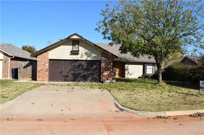 Oklahoma City Single Family Home For Sale: 6605 NW 125th Street