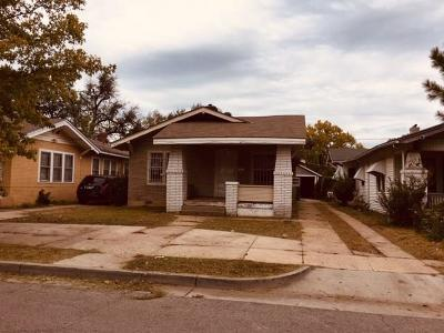 Oklahoma City Single Family Home For Sale: 1617 Linden Street