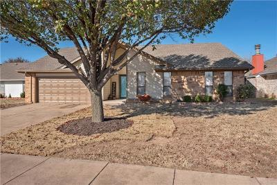 Edmond Single Family Home For Sale: 2709 Mustang Trail