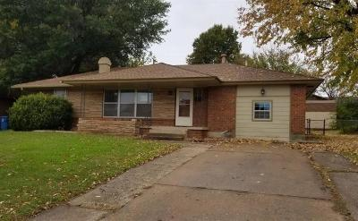 Midwest City Single Family Home For Sale: 3605 Mount Pleasant Drive