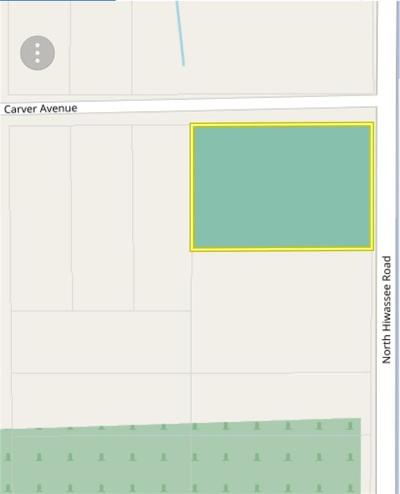 Oklahoma County Residential Lots & Land For Sale: 5400 N Hiwassee (Approx Address)