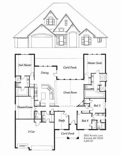 Edmond Single Family Home For Sale: 2501 Rumble Lane