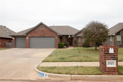 Edmond Single Family Home For Sale: 2025 Oxford Street Street
