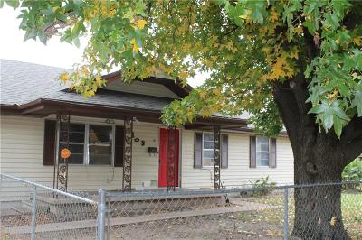 Shawnee Single Family Home For Sale: 103 S Pottenger