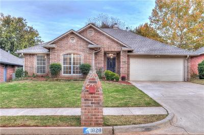 Edmond Single Family Home For Sale: 1828 Kings Crossing