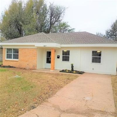 Del City Single Family Home For Sale: 1817 Elm Drive