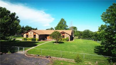 Prague Single Family Home For Sale: 10547 S County Road 3510