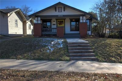 Oklahoma City Single Family Home For Sale: 1614 NW 10th