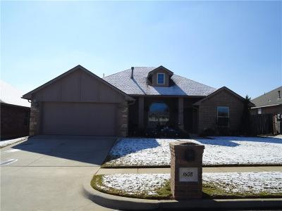 Norman Single Family Home For Sale: 1608 Chambers Street