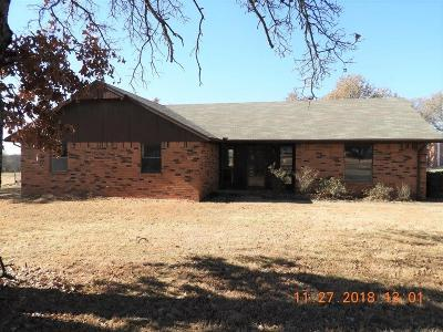 Tecumseh Single Family Home For Sale: 1308 Old Santa Fe Lake Road