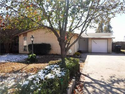 Oklahoma City Single Family Home For Sale: 7620 NW 15th Street