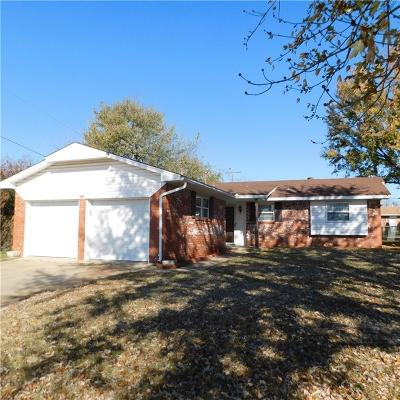 Shawnee Single Family Home For Sale: 806 E Federal