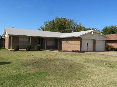 Clinton OK Single Family Home For Sale: $124,000
