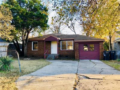 Oklahoma City Single Family Home For Sale: 1115 SW 45th Street
