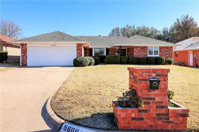 Oklahoma City Single Family Home For Sale: 5808 S Ventura Drive