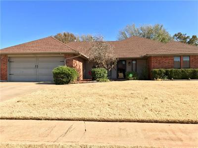 Moore Single Family Home For Sale: 1900 Sequoyah Court