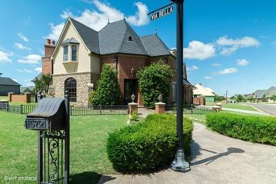 Edmond Single Family Home For Sale: 15721 Via Bella