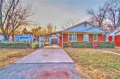 Blanchard OK Single Family Home For Sale: $114,600
