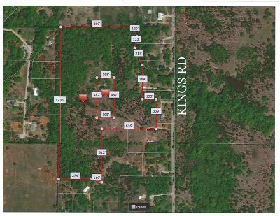 Shawnee Residential Lots & Land For Sale: Kings Rd - 32 Acres