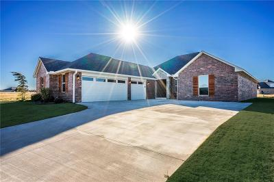 Yukon Single Family Home For Sale: 10809 Mountain Fork Drive
