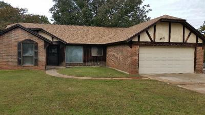 Choctaw Single Family Home For Sale: 18821 Oakwind Road