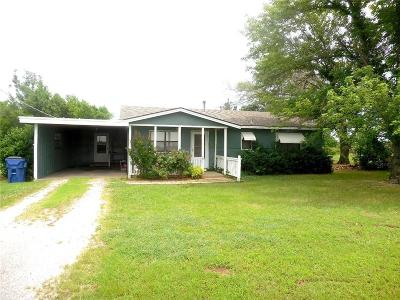 Choctaw Single Family Home For Sale: 1800 N Triple X Road