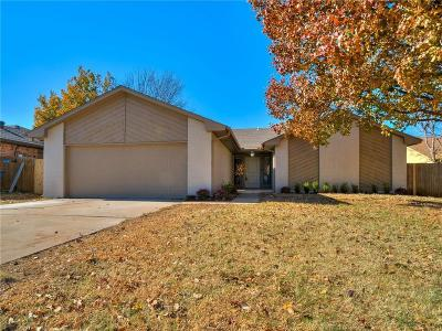 Oklahoma City Single Family Home For Sale: 12421 Doons Drive