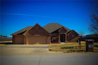 Harrah Single Family Home For Sale: 286 Hillside Drive