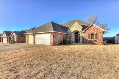 Mustang Single Family Home For Sale: 329 E Atlanta Terrace